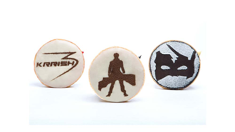 Mad Over Donuts Crafts World's 1st Superhero Donuts