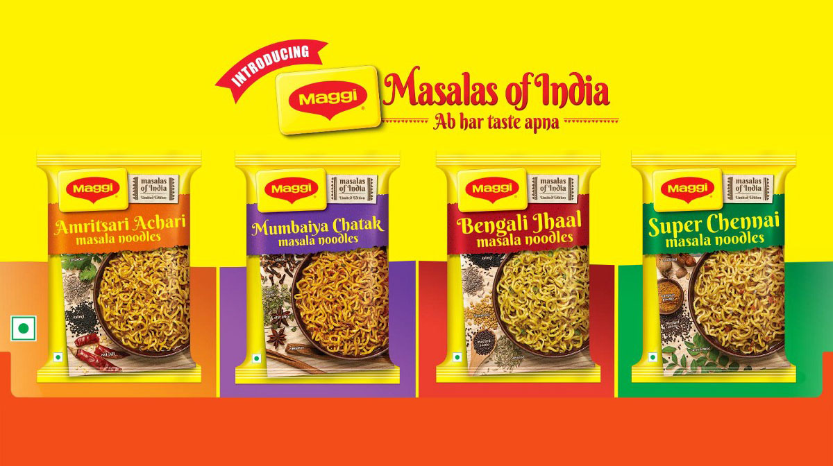 Nestle Maggi introduces four new regional flavours on your plate