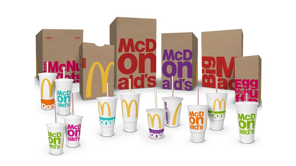McDonald's revamps its packaging