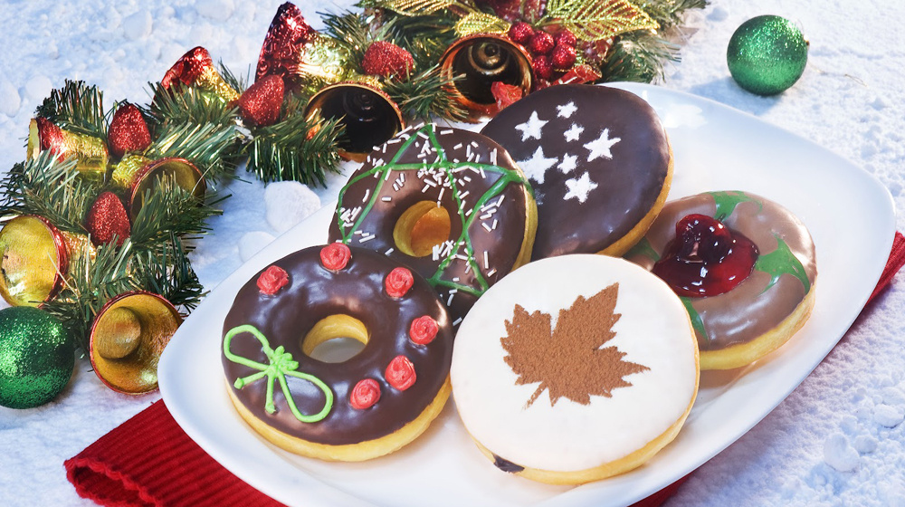 Celebrate Christmas with special themed Mad Over Donuts