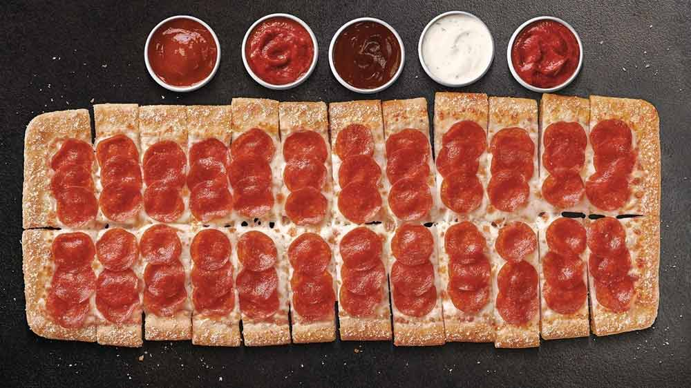 Pizza Hut introduces Big Flavor Dippers Pizza in the US