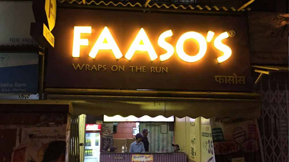 QSR chain Faaso\'s Food raises $20 million from Lightbox Ventures
