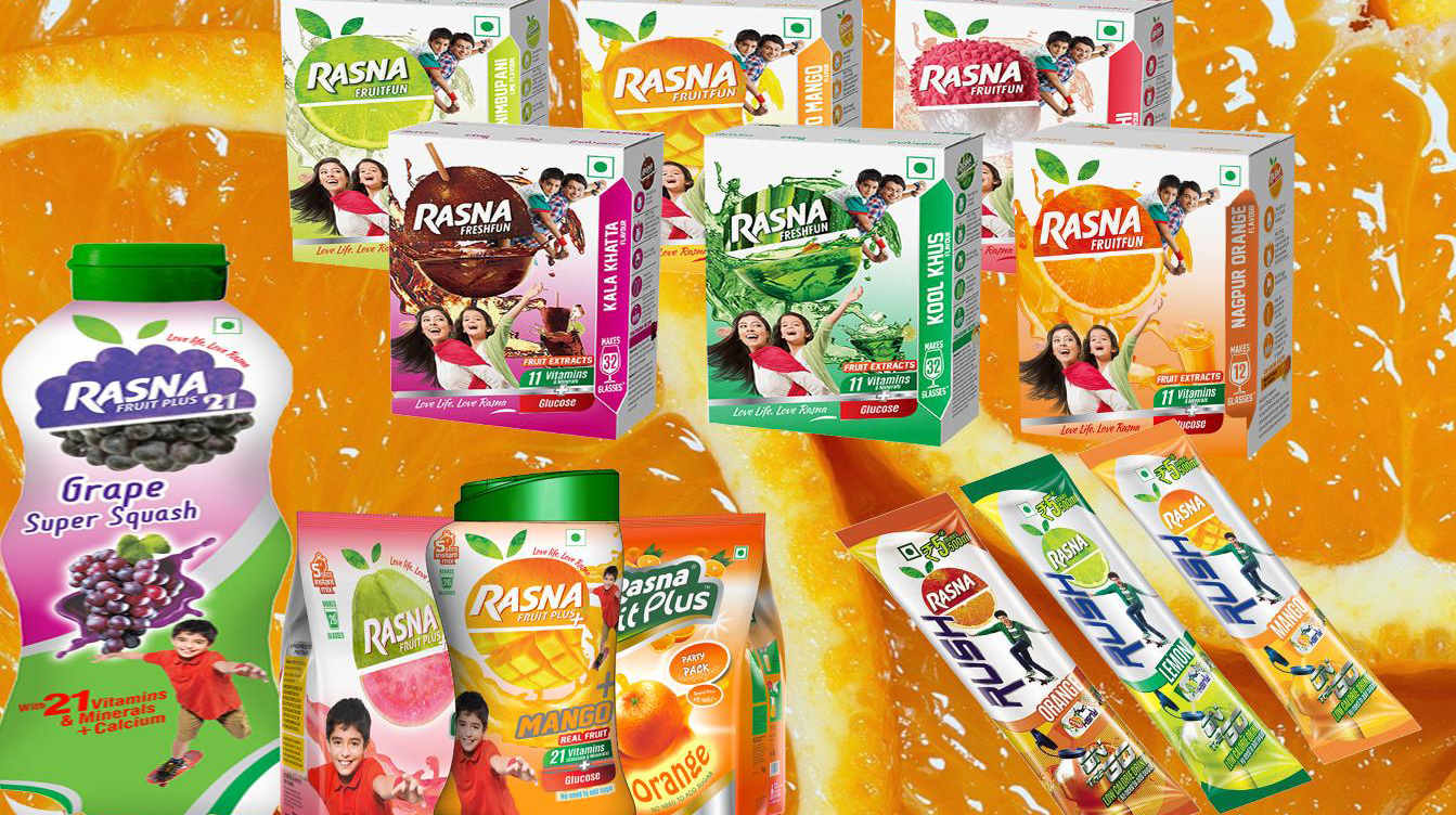 ​Rasna plans to expand its overall product portfolio