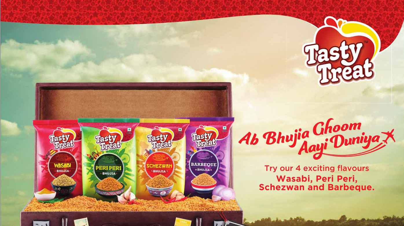 ​Tasty Treat launches new Bhujia flavors in a quirky spot