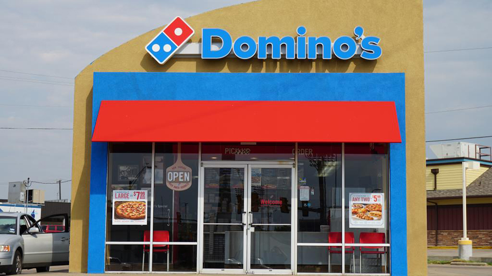 Domino's Pizza reports rising sales