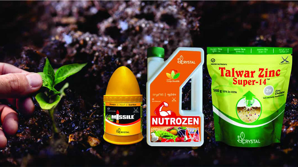 Crystal crop protection acquires 4 insecticide & herbicide brands from FMC Corp