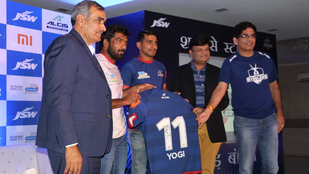 Alcis Sports partners with Haryana Steelers for Pro Kabaddi League