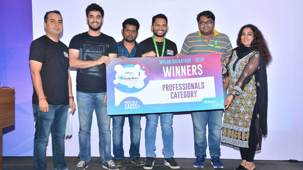 Mylan Pharmaceuticals announces winners of its second edition of the Mylan Hackathon