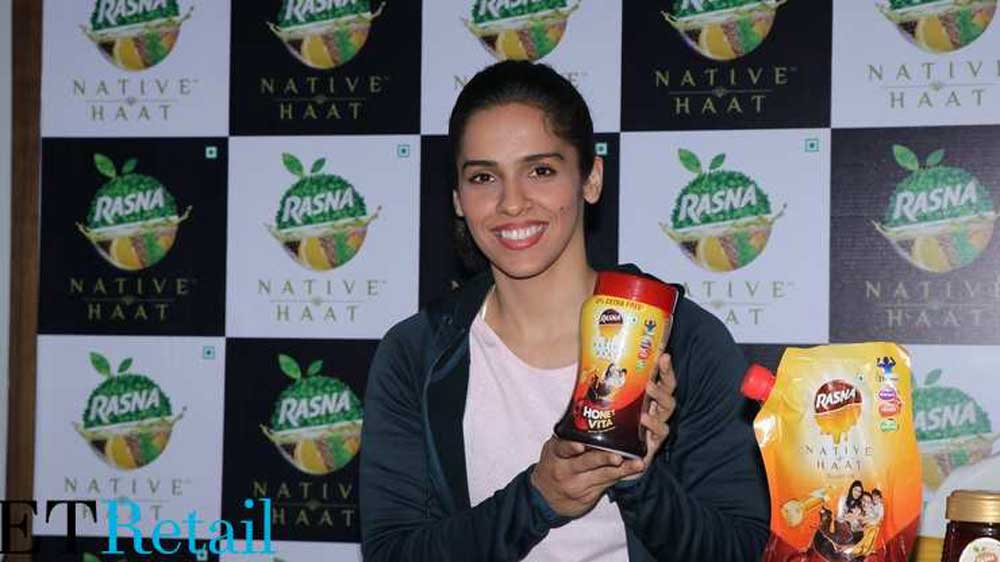 Rasna hires Saina Nehwal as brand ambassador for new health product range