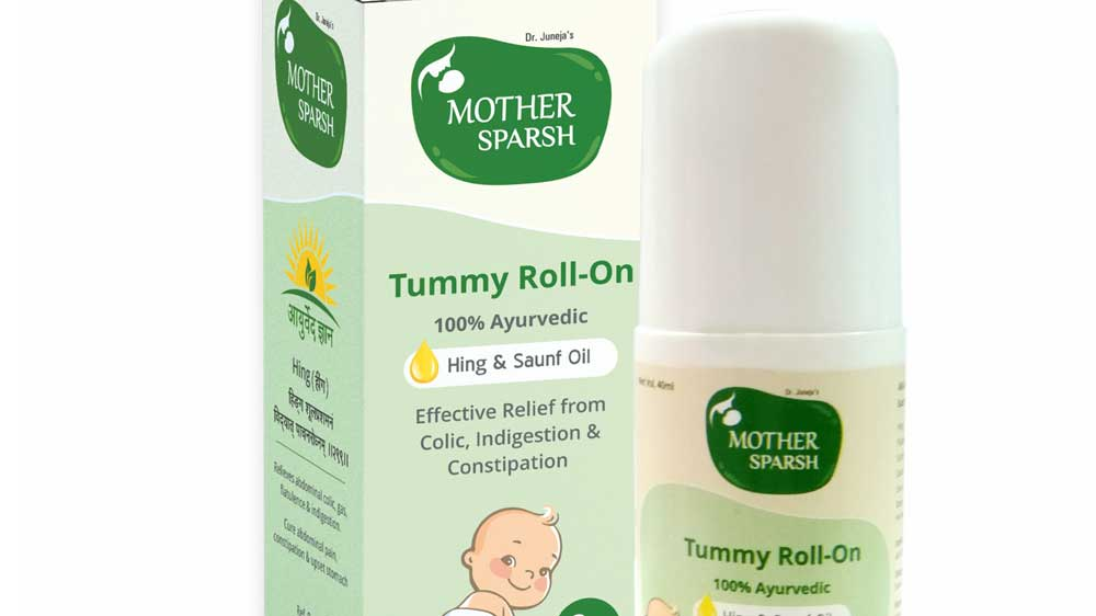 Mother Sparsh Launches Ayurvedic Tummy Roll