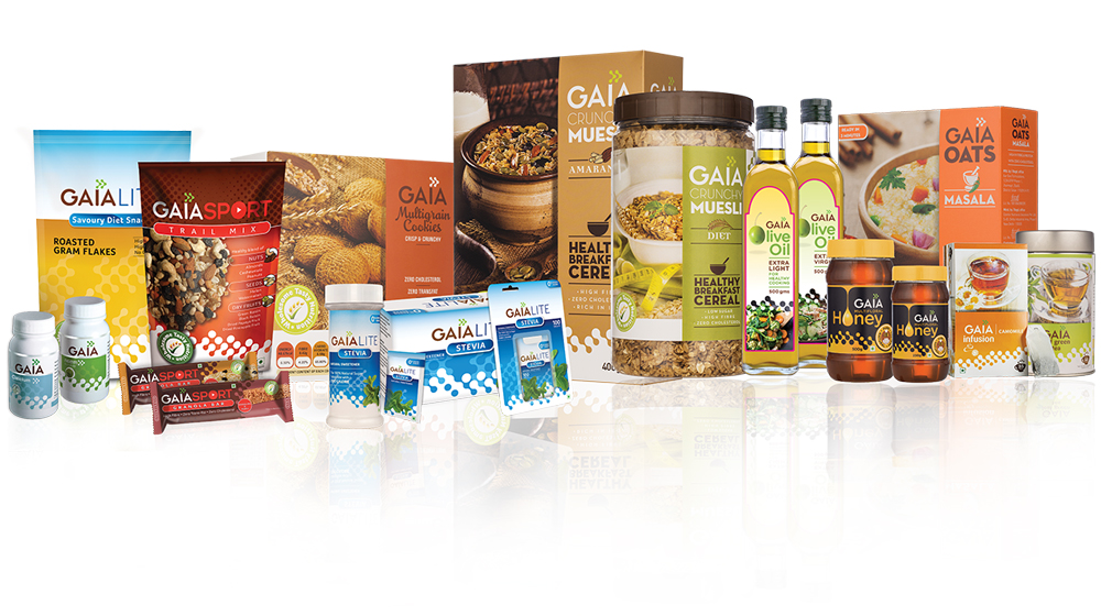 GAIA unveils new packaging of its health foods line