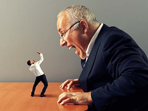 How to deal with a bad boss?