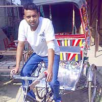 Empowering the Rickshaw Puller Community