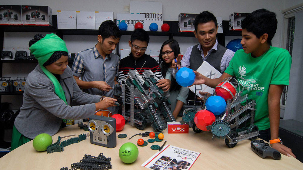 This is what makes Robotics a new and innovative way of learning