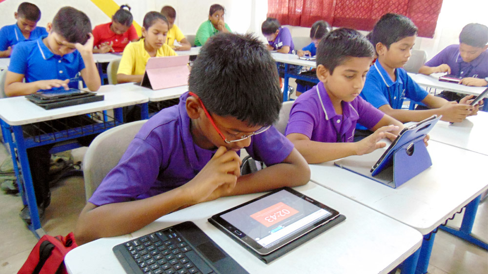 Digitization Making Its Way Into Government Schools