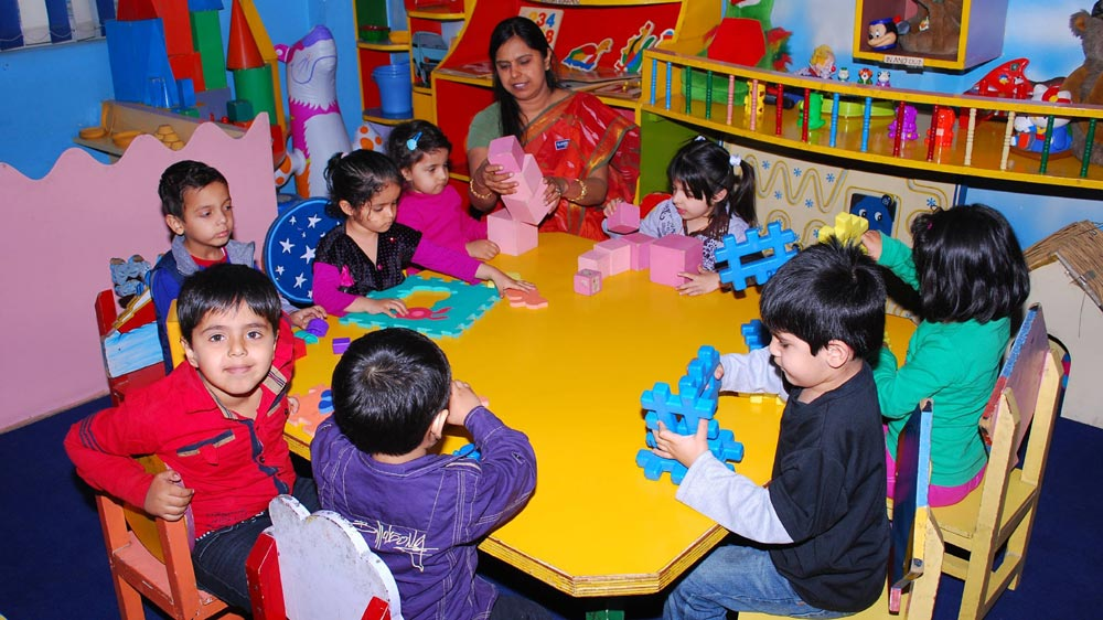 "Delhi Government's ""Mohalla Play-Schools"" for Underprivileged"
