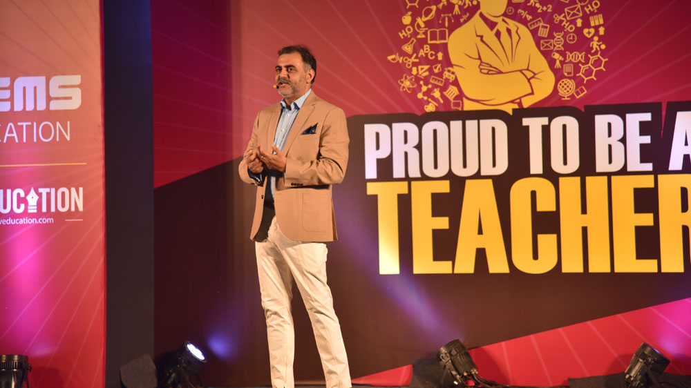 """Make the Teachers More Technology Driven"", Amreesh Chandra"