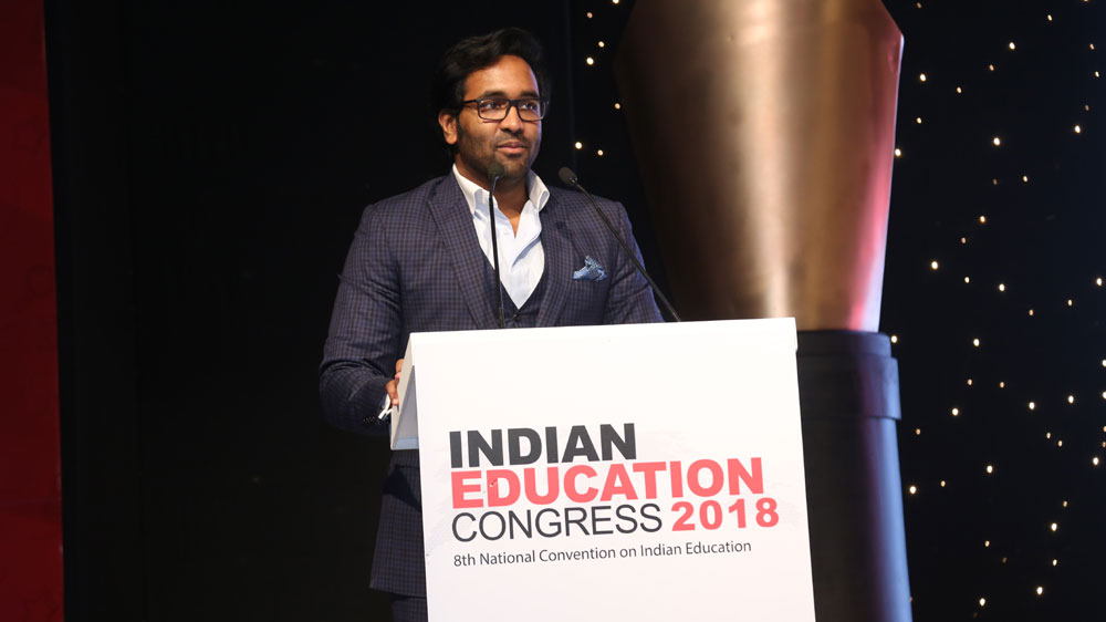 I believe in Investing in my Teachers, Manchu Vishnu