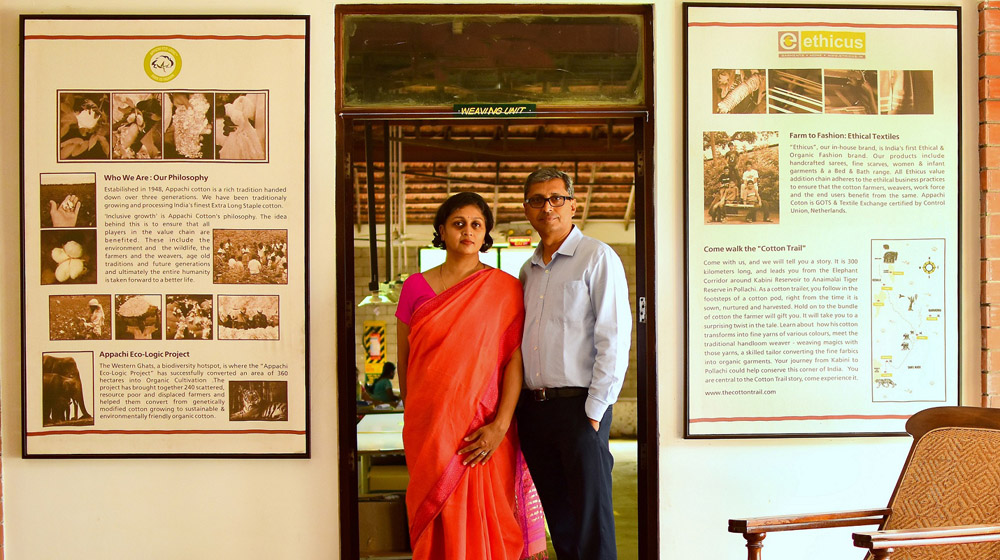 This Husband & Wife Duo Work to Give Weavers an Identity