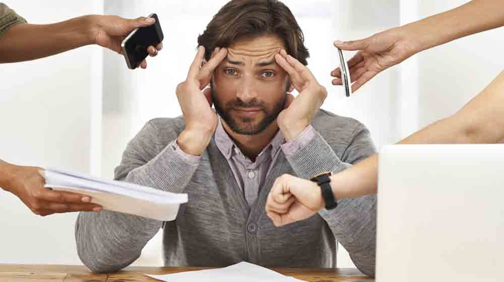 5 Stress Busters for Business Professionals