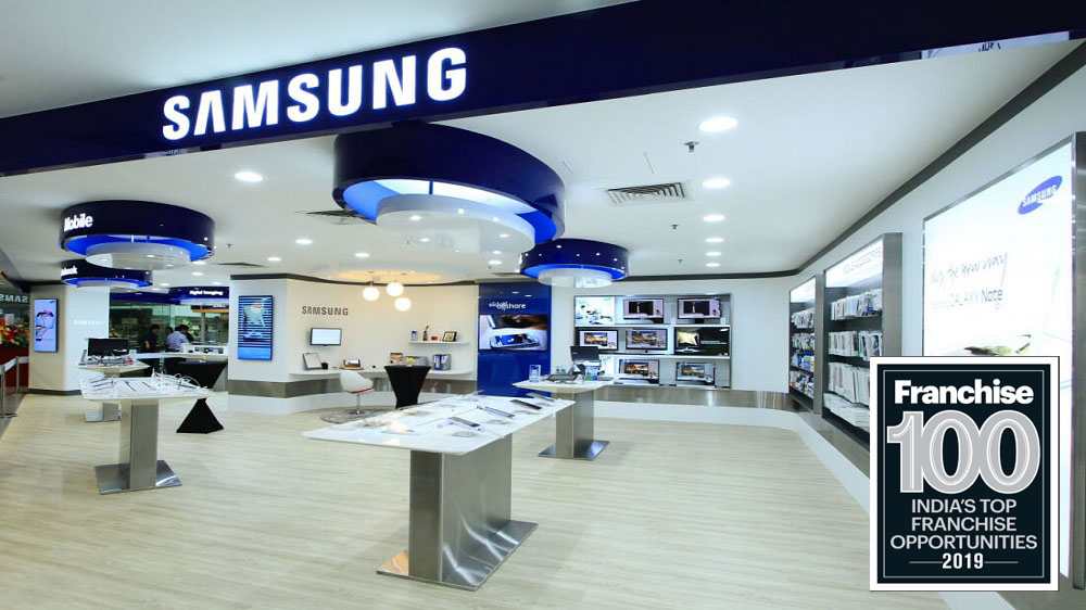 The Legacy of Samsung Brand Led It to Grab a Place in Top Franchise 100 Brands List