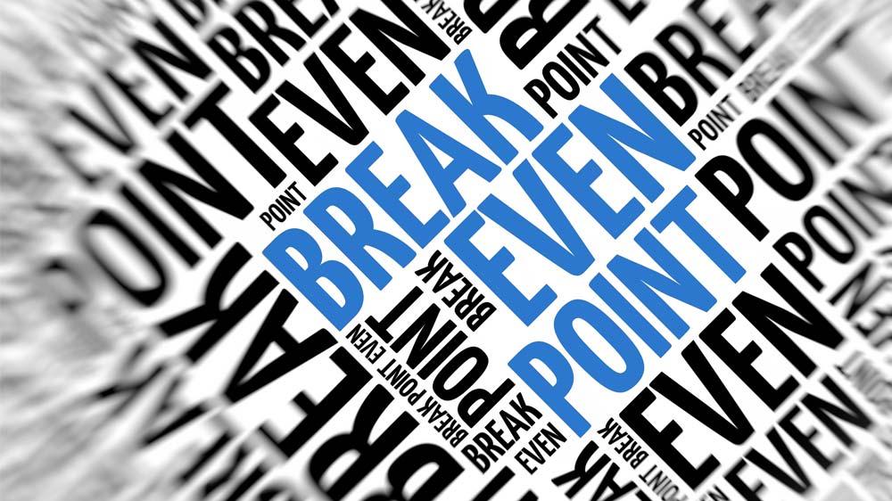 Approaching Break-Even Positively