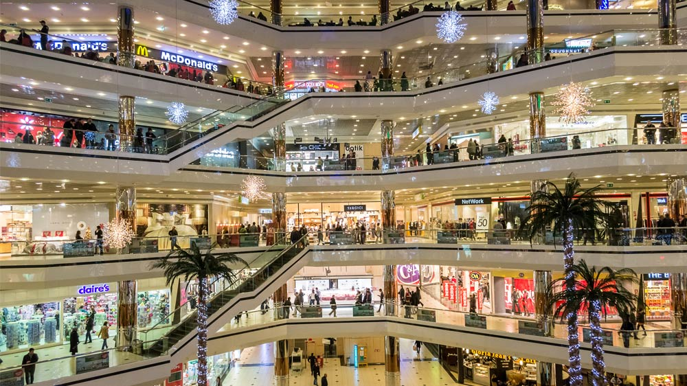 How significant are franchise brands for malls?