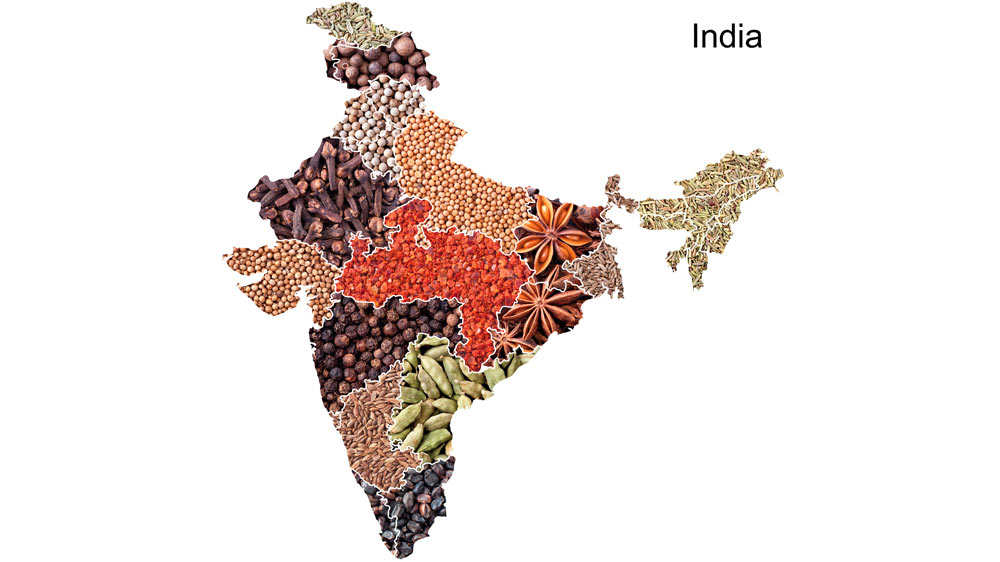 India on a platter