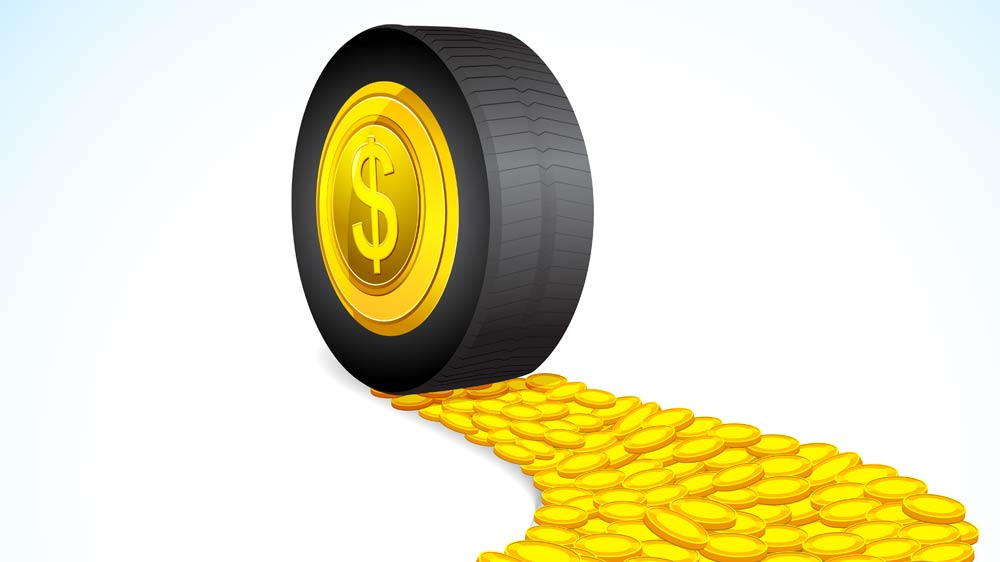 Inflating benefits in tyre business
