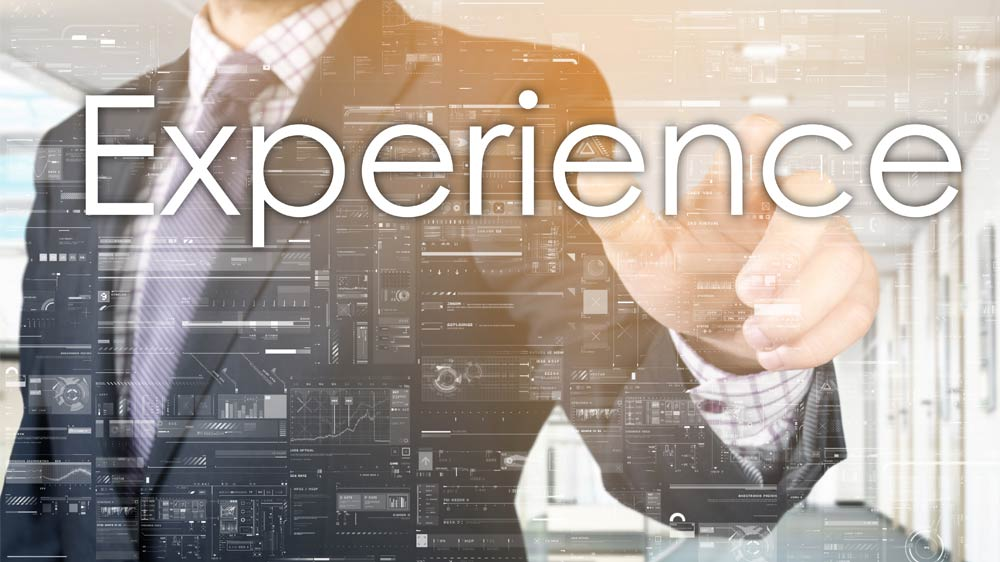 Reap benefits of experience