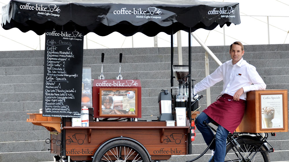 "This Germany-based Mobile Coffee Shop is Making ""Business on Wheels"""
