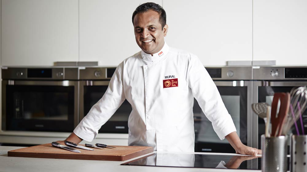This Michelin Star Indian Chef focus on Traditional Taste mixed with Modern Techniques