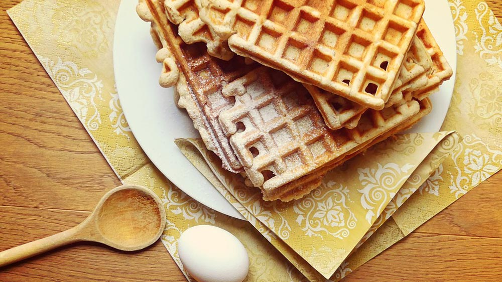 Why waffles are no more restricted to breakfast