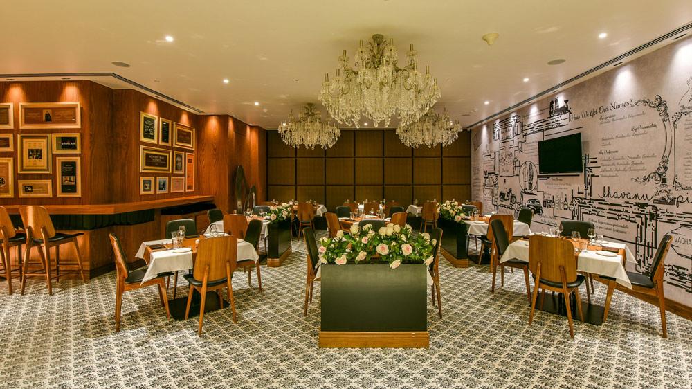 Crafting a Parsi Designed Restaurant