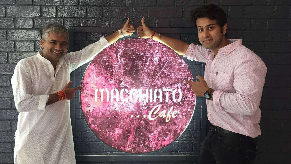 Chef Ripu Daman partners Alok Tiwari to open Italian Restaurant Macchiato