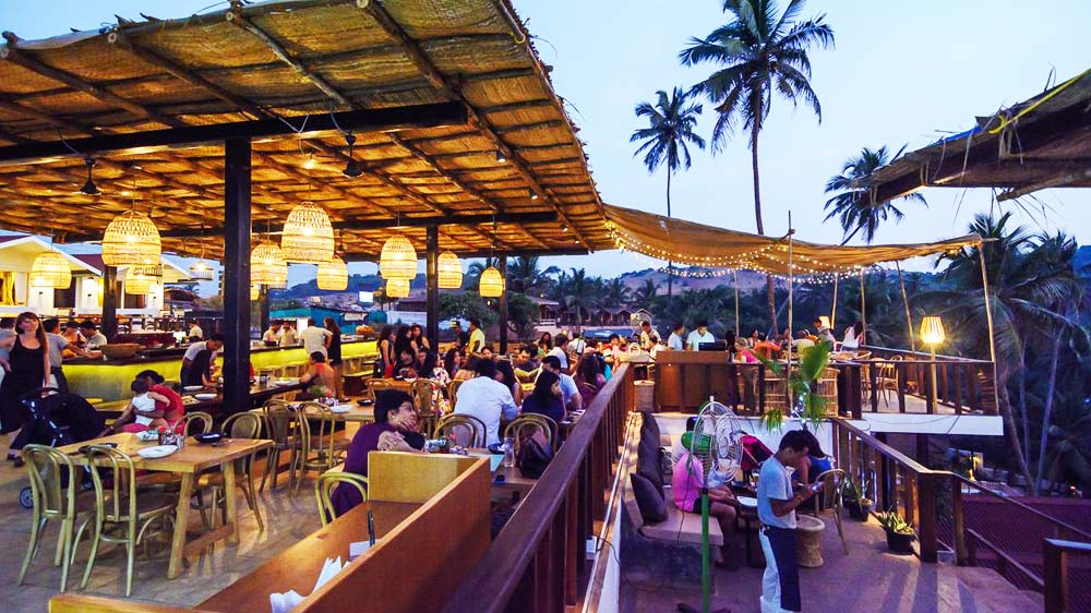 Antares mesmerises customers at Vagator Beach