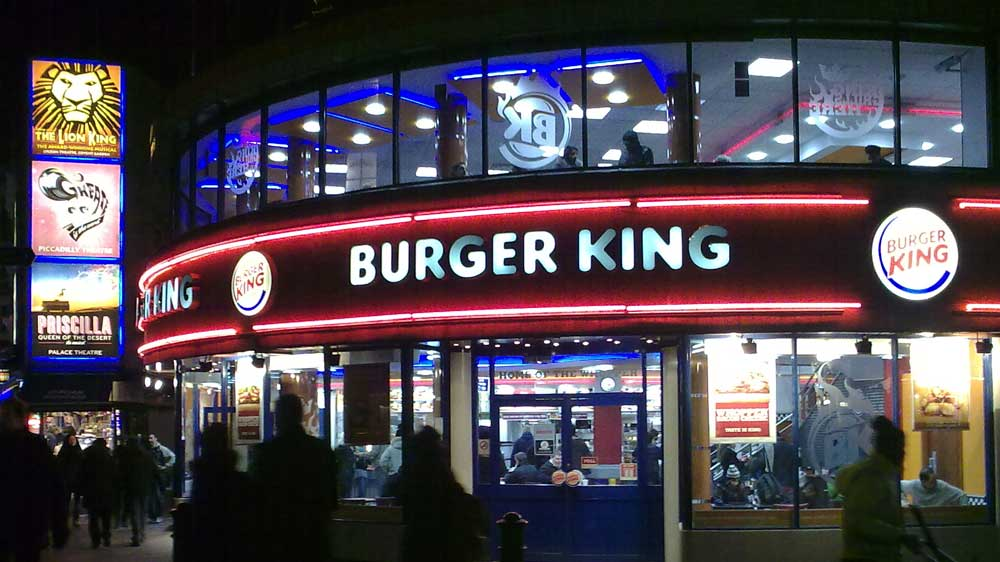 Burger King to focus on India