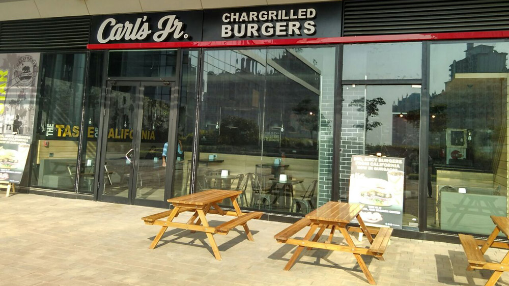Chargrilled burger comes to Gurgaon