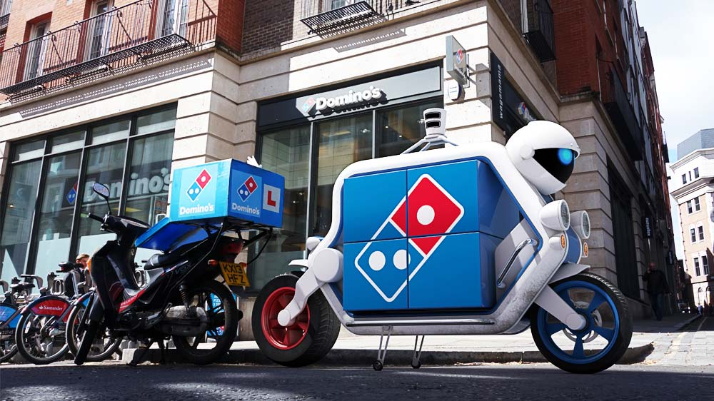 Domino's launches driverless delivery service in UK