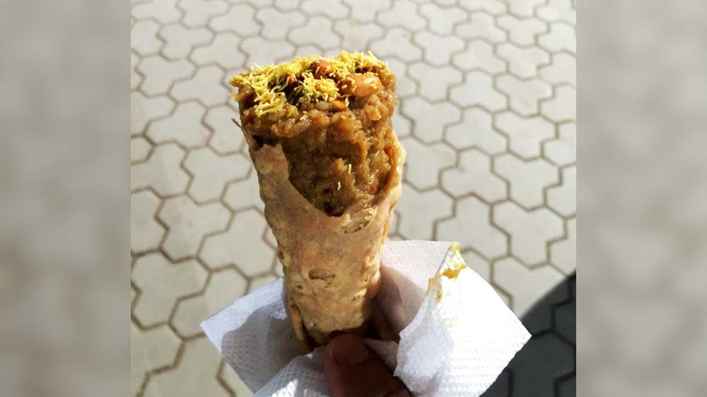Have-you-tasted-PavBhaji-in-a-cone-Come-to-Cones-Curries