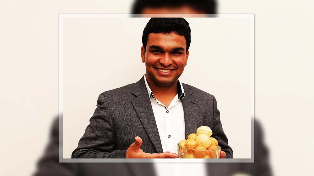 Introducing the hygienic 'Paani Puri'