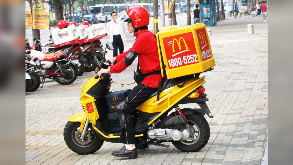 Is delivery biz the new revenue booster for McDonald's in