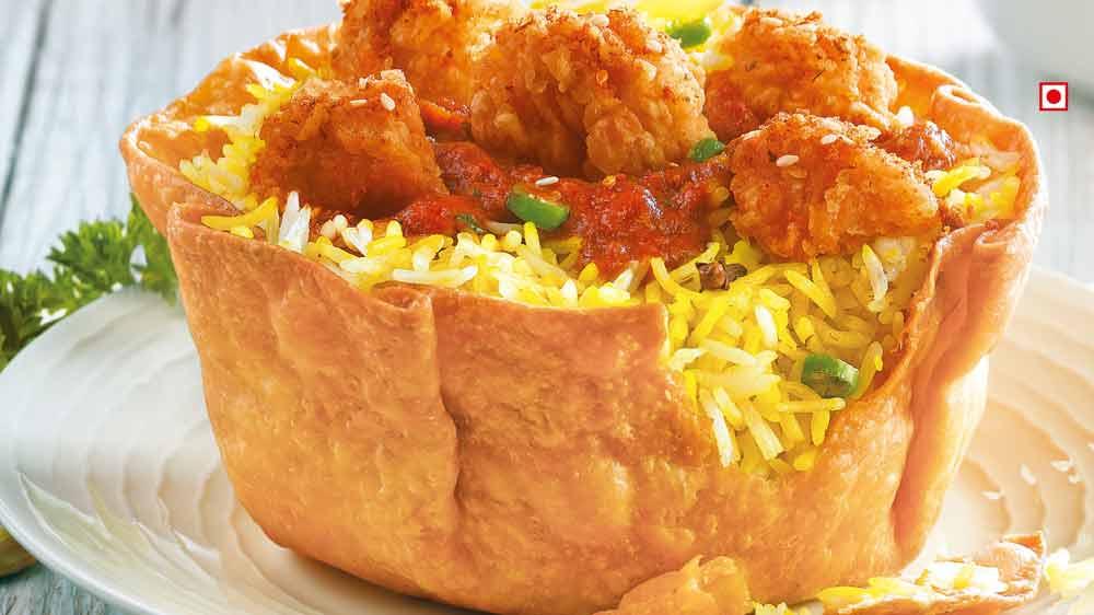 KFC to tests Edible Rice Bowlz in Bengaluru