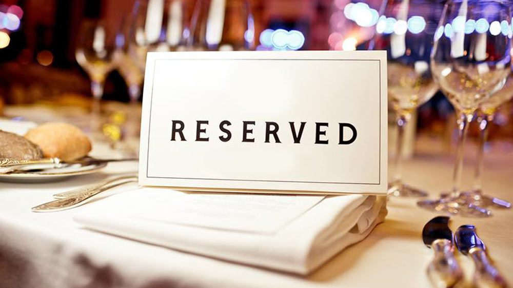 How Online Table Reservation Is Turning Big In India - Table reservation in restaurant