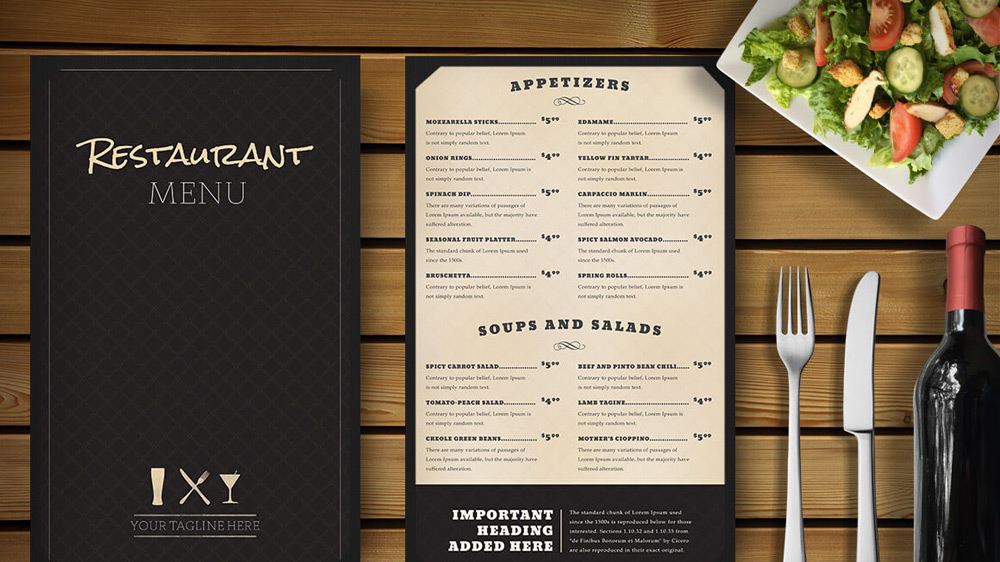 4 Strategies that can make your menu a star menu