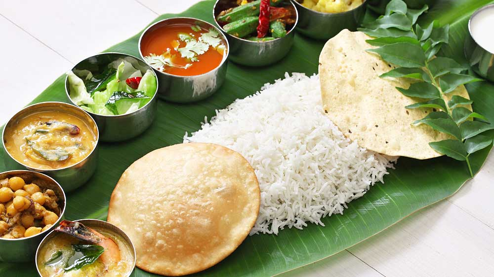 South Indian cuisine: building a healthy umpire