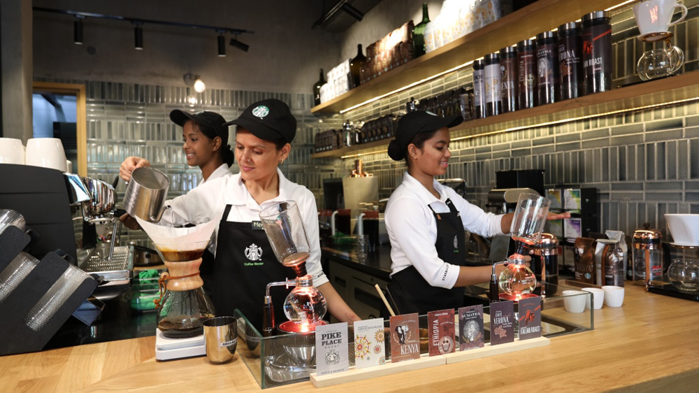 Starbucks new store brews an elevated customer experience