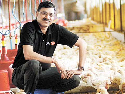 We serve across 68 cities in India: Tyson Foods