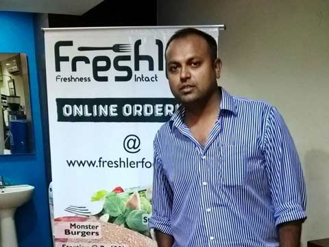 Freshler - Not just selling food but an experience