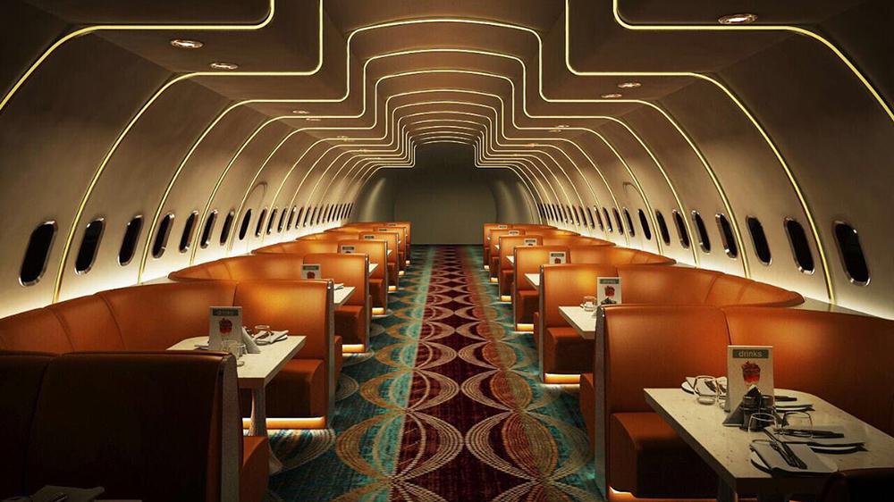The Airplane restaurant is betting big on family crowds